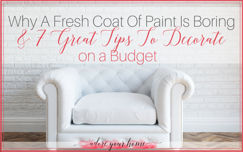 Why A Fresh Coat Of Paint Is Boring