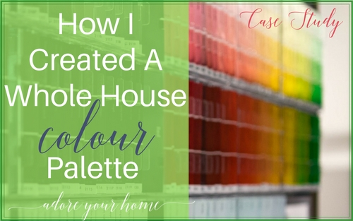 How I Created A Whole House Colour Palette – Case Study