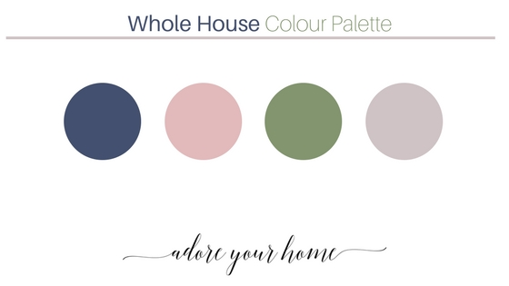How I Created A Whole House Colour Palette Case Study Adore Your