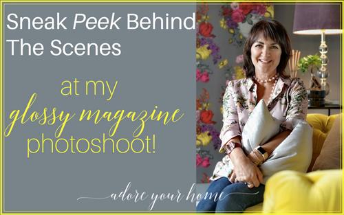 Sneak Peek Behind The Scenes At My Glossy Magazine Photoshoot!