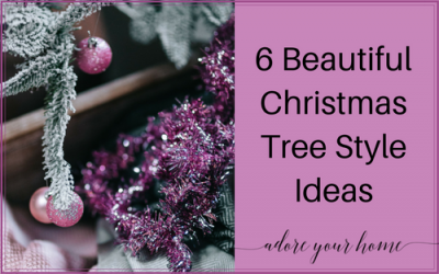 6 Beautiful Christmas Tree Style Ideas